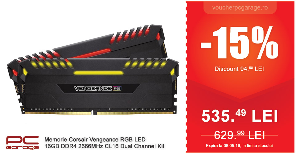 Corsair Vengeance RGB LED 16GB DDR4