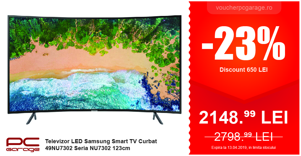 Samsung Smart TV Curbat 49NU7302
