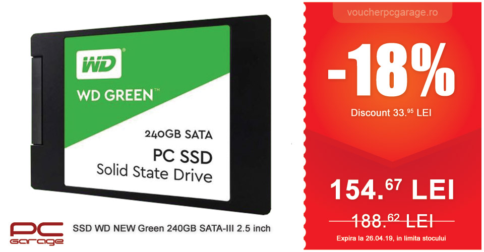 SSD WD NEW Green 240GB