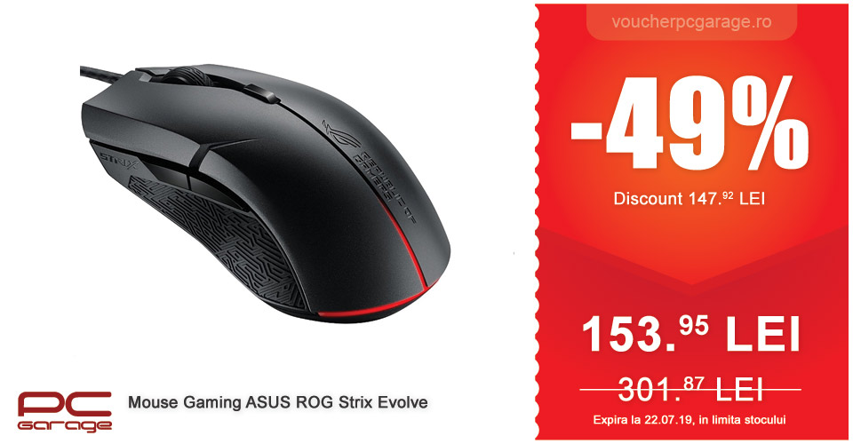 Mouse Gaming ASUS ROG Strix Evolve