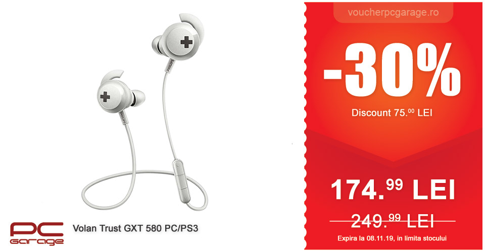 Reducere casca bluetooth philips bass+