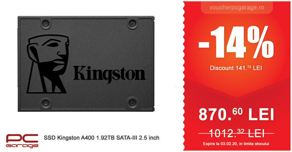 ssd kingston a400 1.92tb